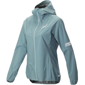 inov-8 AT/C FZ Stormshell Jacket Women blue grey